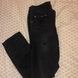 One Teaspoon charcoal skinny jeans